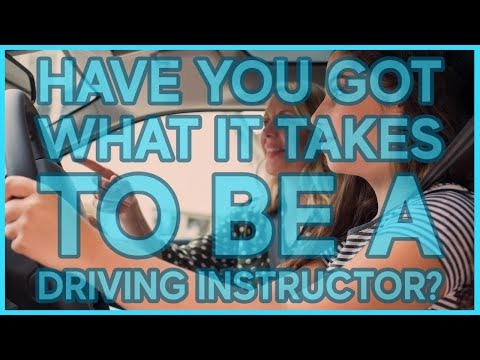 The 3 MUST HAVE QUALITIES to become a driving instructor