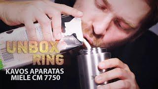 PATS BRANGIAUSIAS KAVOS APARATAS!!!   MIELE CM 7750   Unbox Ring apžvalga