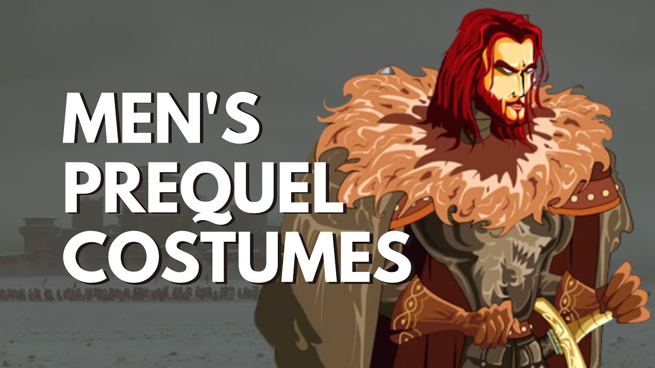 Men's Game of Thrones Prequel Costumes: Knights and Dragonriders