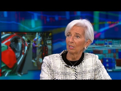 "IMF chief sees ""no signs"" of U.S. recession ""in the near term"""