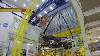 Time-lapse: James Webb Space Telescope Secondary Mirror Deployment Test