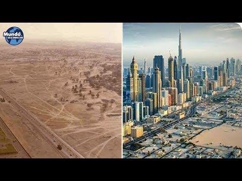 DUBAI - DE DESERTO PARA CIDADE DO FUTURO