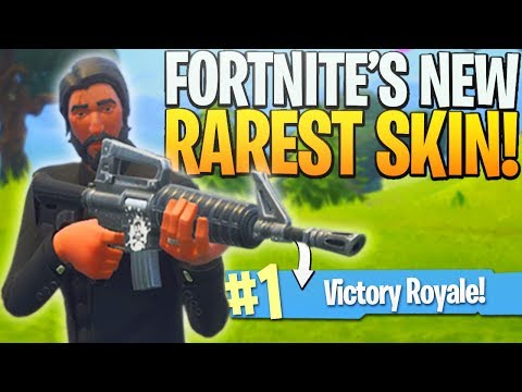 *NEW* RAREST Skin in Fortnite!