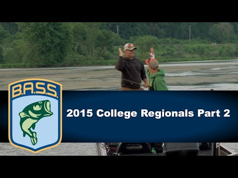 2015 College Bass Regionals Part 2