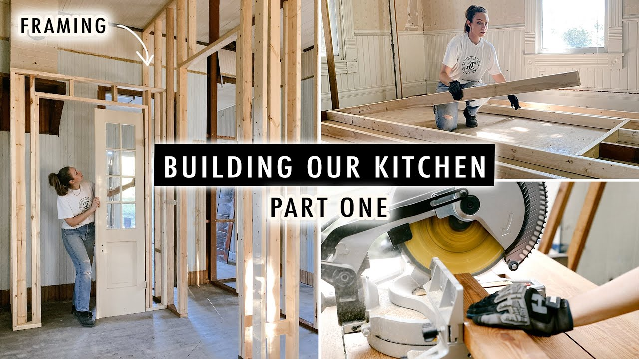 BUILDING OUR KITCHEN (Part 1)   Renovating Our 110-Year-Old Cottage   XO, MaCenna