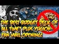THE BEST BUDGET DECK OF ALL TIME? PLUS YUGIOH FAN MAIL OPENING!