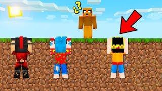 ¡ESCONDITE EXTREMO en el LÍMITE del MAPA! 😂 El escondite en Minecraft con mods
