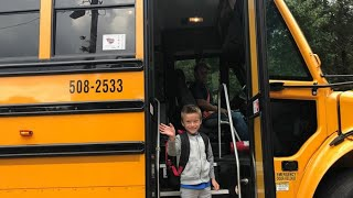 First Time Riding the School Bus