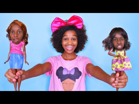 GAME MASTER Turns Our Friends INTO TOYS! - Shasha and Shiloh - Onyx Kids