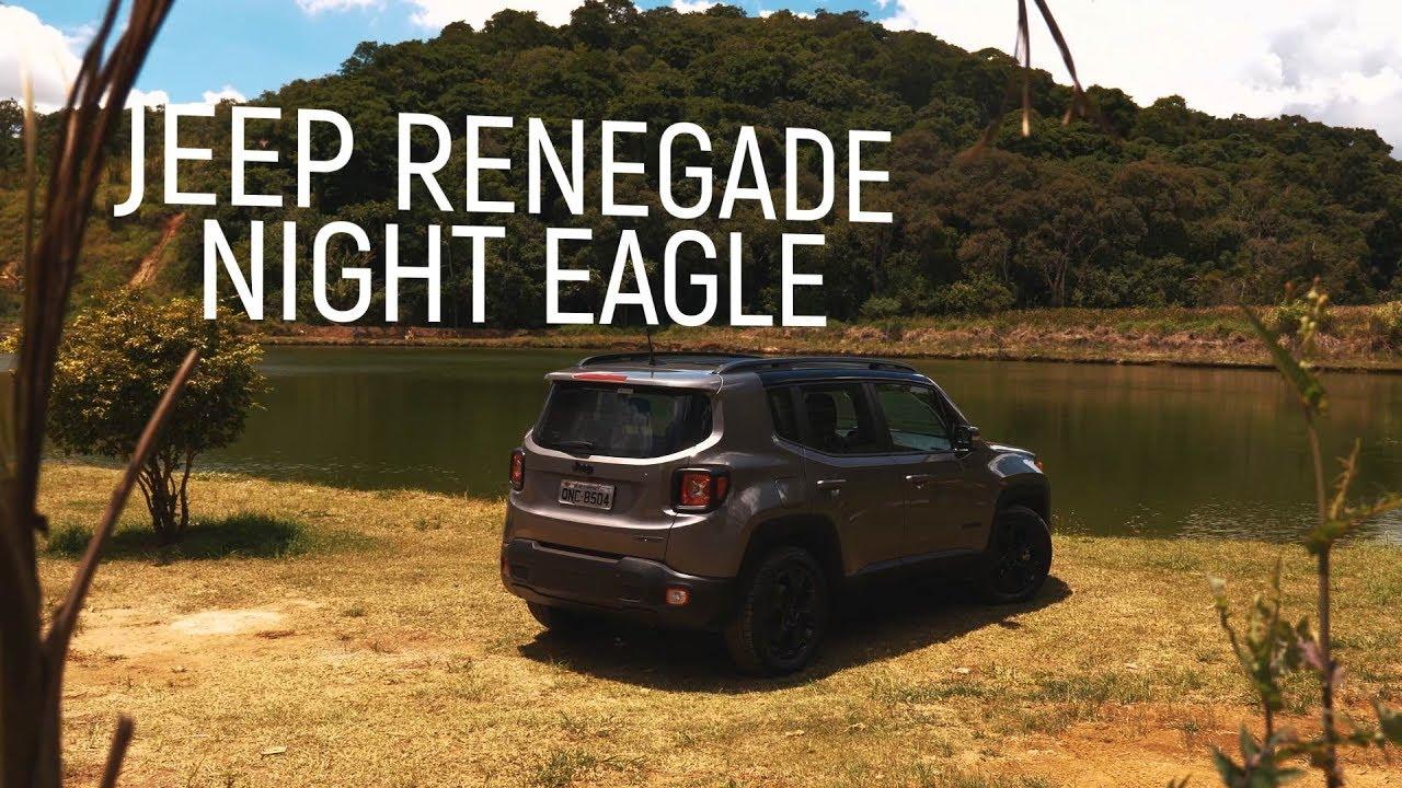 Jeep Renegade Night Eagle 1.8 Flex - Teste Webmotors - YouTube
