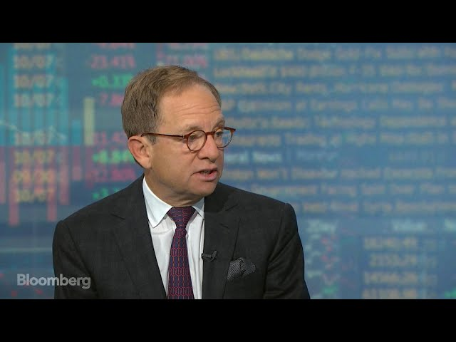 Steve Rattner Sees Stretched Market Valuations
