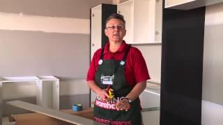 How To Cut Kitchen Kickboard - Diy At Bunnings