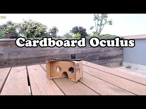 Cardboard Oculus - putting it all together