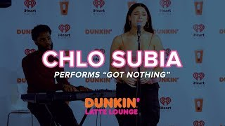Chlo Subia Performs 'Got Nothing' Live | DLL