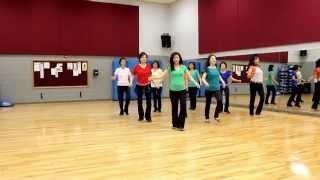 Walking On Air (Simon Ward & Amy Glass) - Line Dance (Dance & Teach in English & 中文)