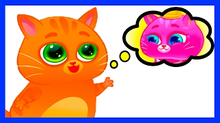 КОТЕНОК БУБУ #18. BUBBU - МОЙ ВИРТУАЛЬНЫЙ ПИТОМЕЦ - мультик игра видео для детей про котиков.