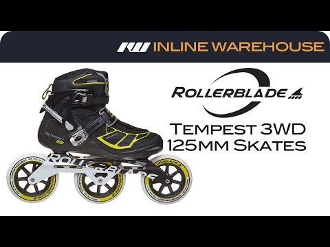 2017 Rollerblade Women/'s Tempest 100 pro skates NEW!