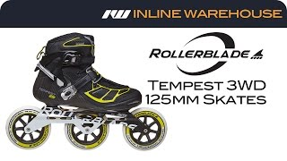 Rollerblade Tempest 3WD 125mm Inline Skates Review