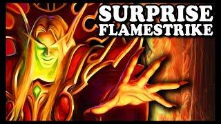 "Grubby | ""Surprise Flamestrike"" | Warcraft 3 | HU vs ORC | Echo Isles"
