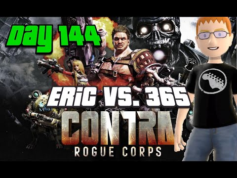 Eric Vs. 365 - Day 144 - Contra Rogue Corps - Road Corpse