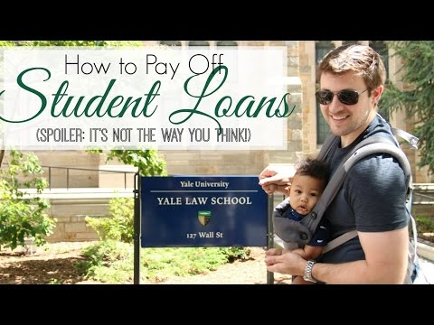 How to Pay Off Student Loan Debt | Our Plan to Tackle $420K