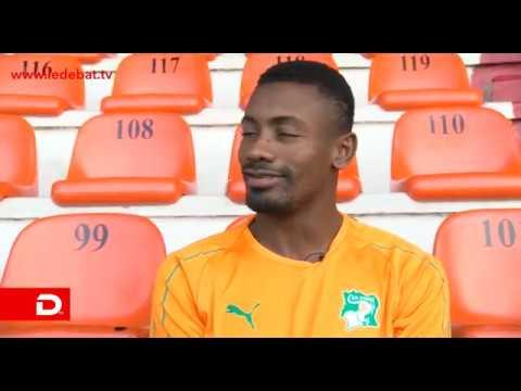 Dans l'actualité/Conférence de presse de Salomon Kalou avant le match CI Maroc