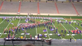 """Liberty High School """"Pride of the Lancers"""" Marching Band 2012 """"HUMANature"""" -Zia Festival"""
