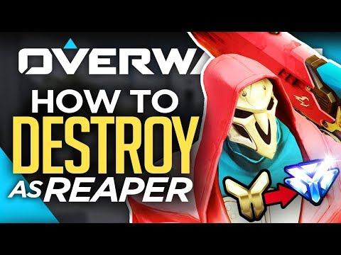 Top 5 Reaper Tips to Rank Up Fast! (Overwatch Guide)