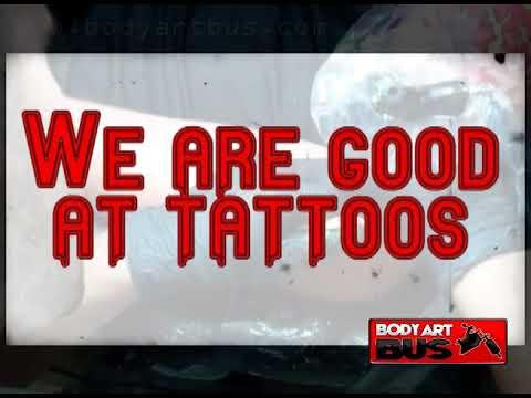 Body Art Bus Commercial