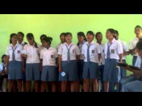 Besarkan Nama TUHAN-XI IPA 1 SMA Kristen 1 Kupang angkatan 2014