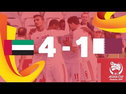 UAE vs Qatar: AFC Asian Cup Australia 2015 (Match 5)