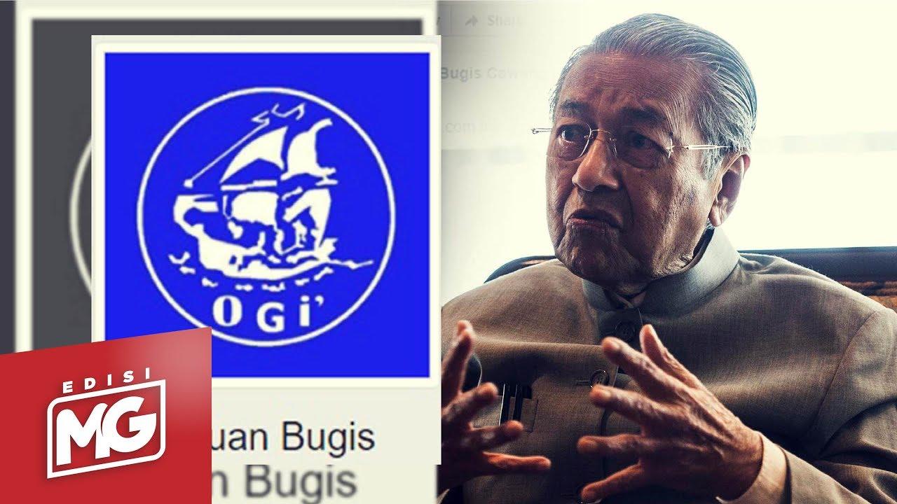 Persatuan Bugis Johor Buat Laporan Polis Terhadap Tun M   Edisi MG