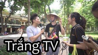 Lên Trắng TV Bản Full | I'm on the news mom!!!