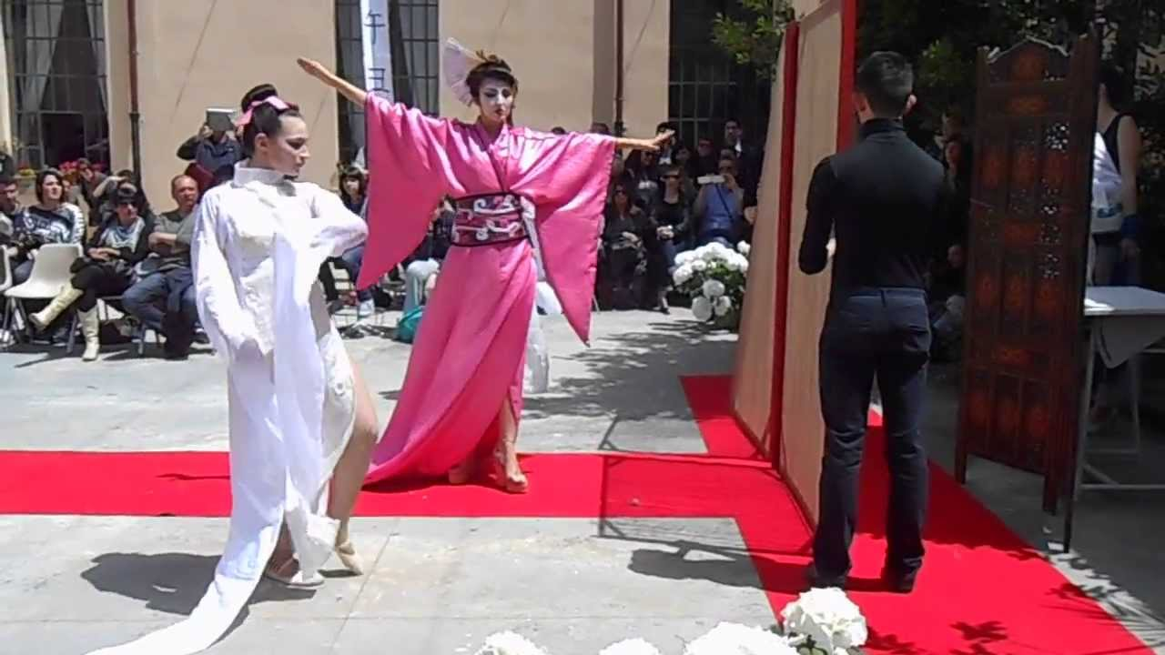 Sfilata di moda 39 japanese mood 39 liceo artistico statale for Liceo di moda milano