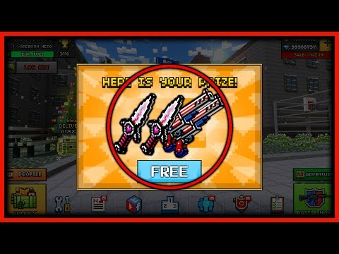 THIS CHEAT GIVES YOU FREE GUNS IN PIXEL...