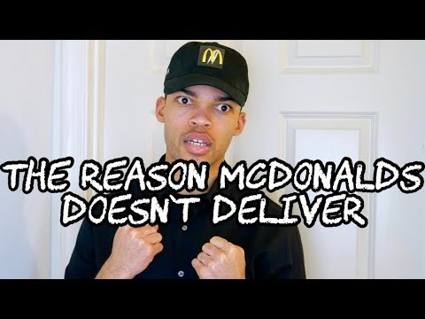 The Reason McDonalds Doesn't Deliver