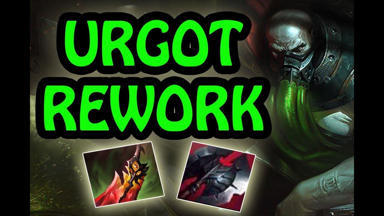 New Look New Skills Broken Damage Best Build Urgot Rework Jungle