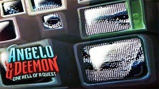 САМЫЙ УМНЫЙ ЧАТ-БОТ ► Angelo and Deemon #4
