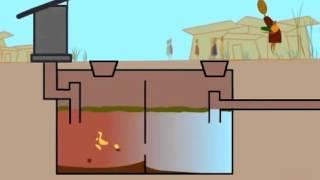 Септик. Принцип работы.(В видео показана принципиальная схема работы анаэробного септика. http://s-topol.ru/, 2013-02-24T16:31:10.000Z)