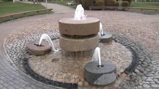 Atmodinātas Ventspils strūklakas