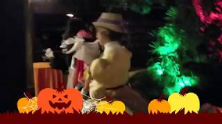 HskyArt Jane from Tarzan special character meet and greet Disneyland Halloween party HSKY 2018