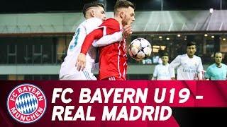 Highlights UEFA Youth League: U19 unterliegt Real Madrid in großartiger Partie mit 2:3
