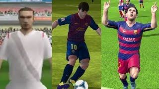 EVOLUTION OF FIFA MOBILE 10 to 17