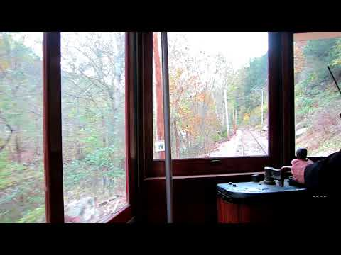 Riding the Trolley at Rockhill Trolley Museum - Rockhill Furnace, PA