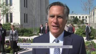 Le Chesnay : inauguration du premier temple Mormon de France