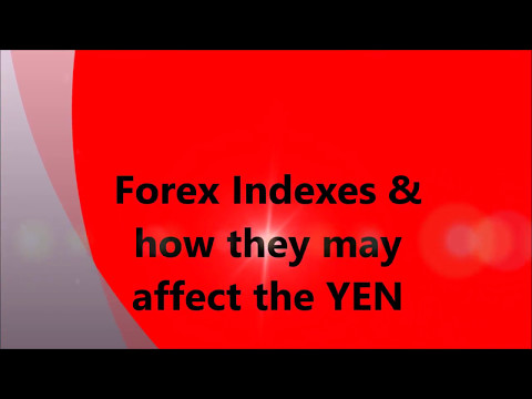 Forex Indexes and how they may affect the JPY