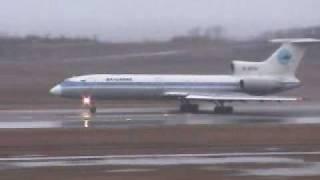 DALAVIA FAR EAST AIRWAYS Tupolev 154 Niigata AirPort