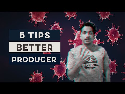 HOW TO Become A Better Music Producer Under Quarantine