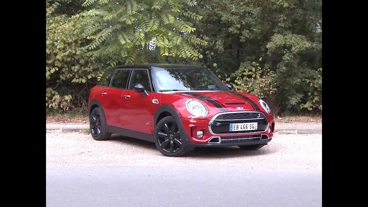 essai mini clubman cooper s all4 bva8 2016 youtube. Black Bedroom Furniture Sets. Home Design Ideas