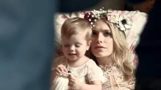 Елена Перминова с дочерью Ариной в фотосессии Tatler